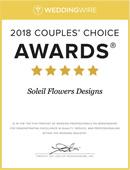 WeddingWire CCA 2018 Certificate